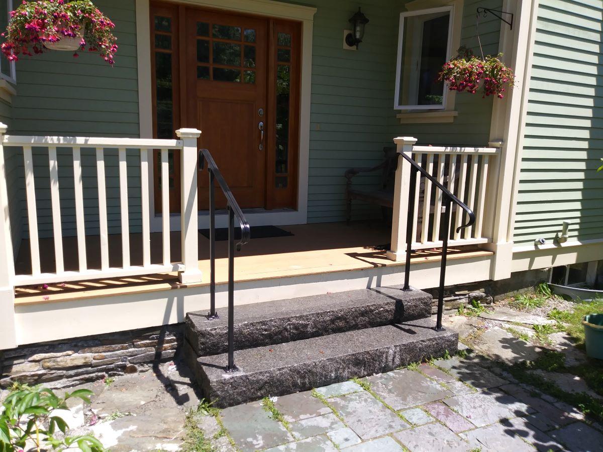 Residential Stone Steps