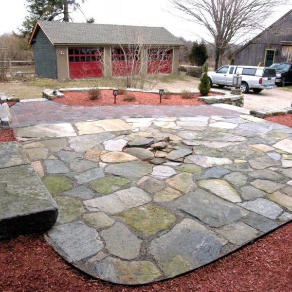 Residential Stone Patio